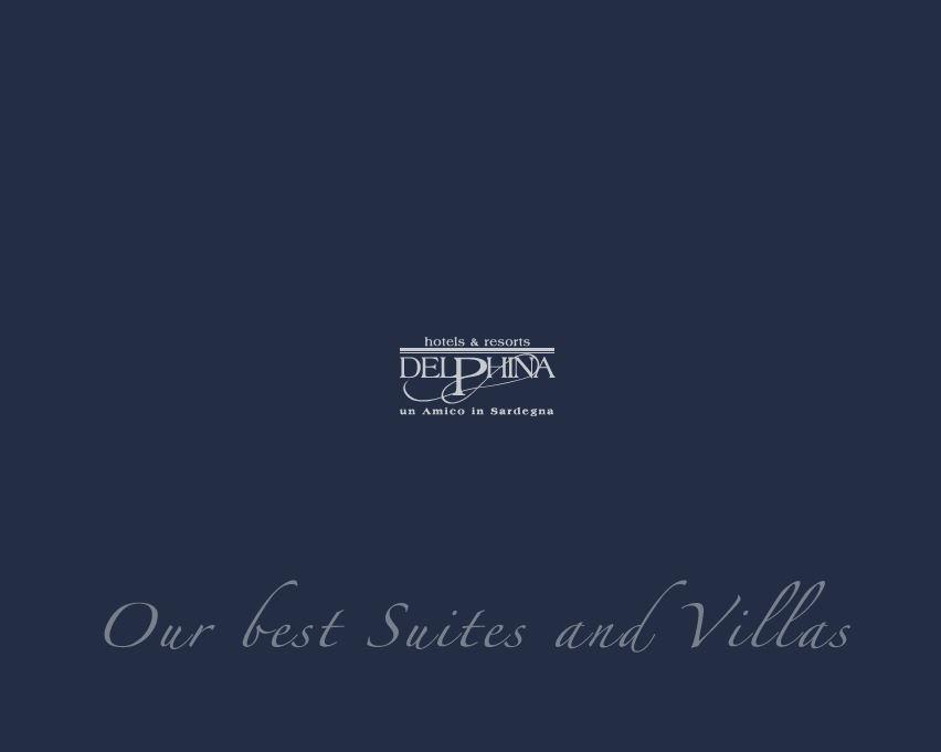 Catalogue our best suites and villas Delphina