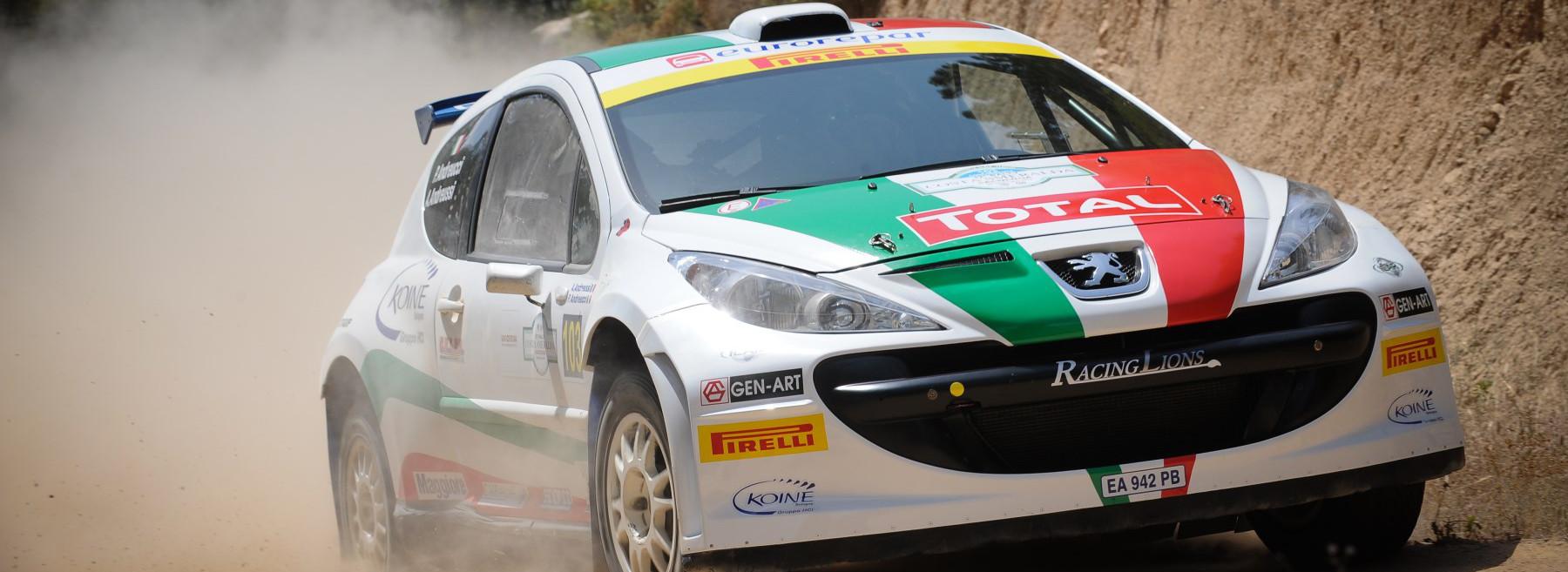 Delphina Settembre in Sardegna con il 33° Rally Costa Smeralda  Sardegna