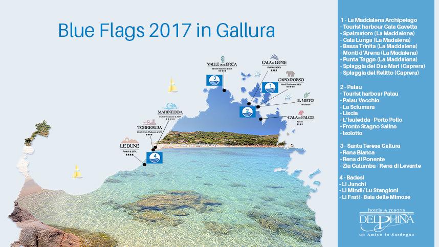 Blue Flags 2017 Sardinias dream beaches