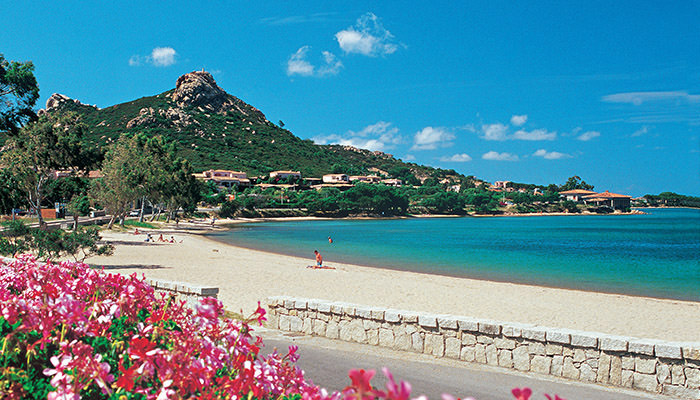 Resort Cala di Falco a Cannigione in Costa Smeralda - Spiaggia