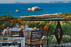 Vanity Fair looks at the Delphina restaurants, cuisine in Sardinia