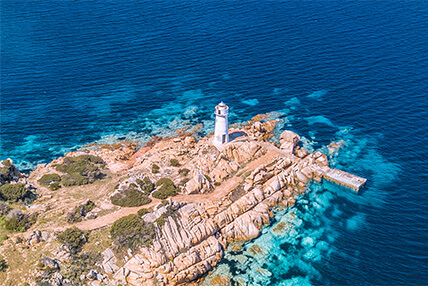 Fari del Nord Sardegna: dove vedere i più belli