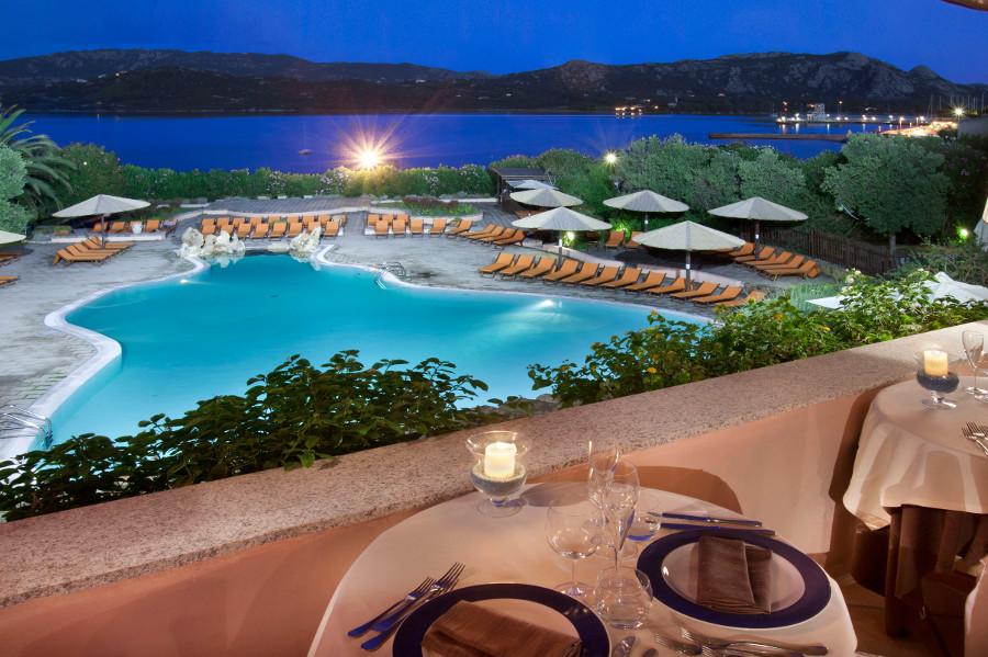 Restaurants Delphina Resort Cala di Falco Cannigione, Costa Smeralda Sardinien - Italien