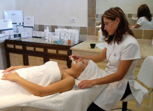 hotel cala di lepre gallery benessere trattamento viso  Palau, Costa Smeralda Sardaigne - Italie