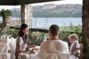 Restaurantes Delphina Hotel Cala di Lepre Palau, Costa Smeralda Cerdena - Italia