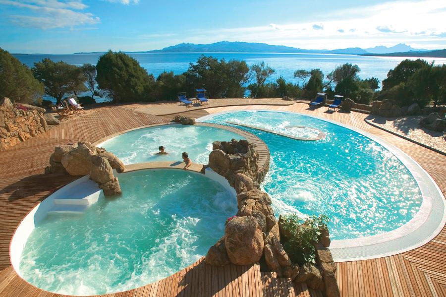 Thalasso und Wellness Delphina Hotel Capo d'Orso Palau, Costa Smeralda Sardinien - Italien