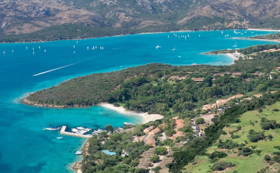 hotel capo d orso gallery 23 aerea cala selvaggia  Palau, Costa Smeralda Сардиния - Италия