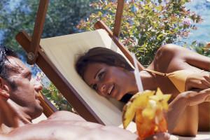 hotel capo d orso gallery 36 relax coppia  Palau, Costa Smeralda Sardaigne - Italie
