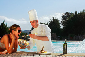Restaurants Delphina Hotel Capo d'Orso Palau, Costa Smeralda Sardinien - Italien