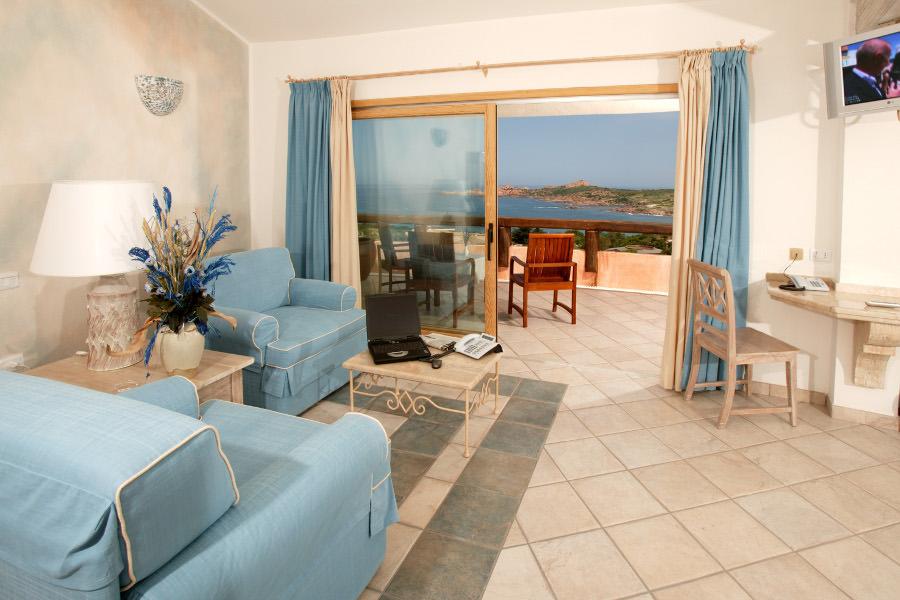 Zimmer Delphina Hotel Marinedda Marinedda, Isola Rossa Sardinien - Italien