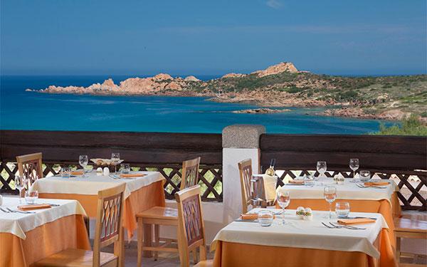 Ristorante Petra Ruja - Hotel Marinedda - Isola Rossa