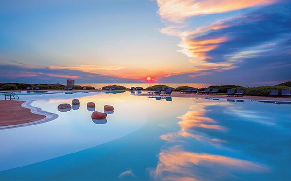 Hotel Torreruja. E poi tramonta il sole.