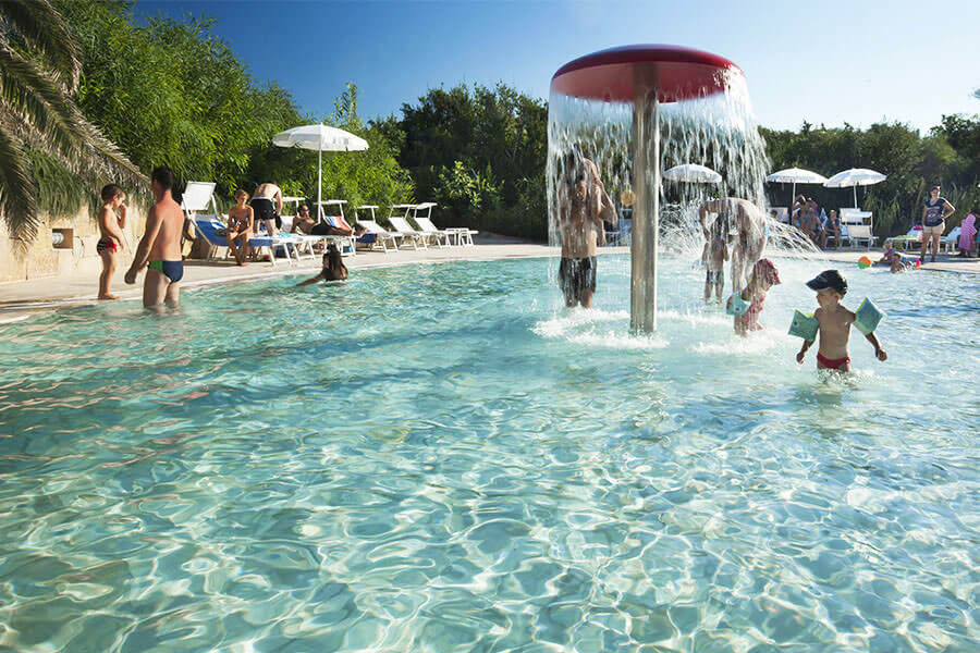Resort Le Dune, the kids-only pools