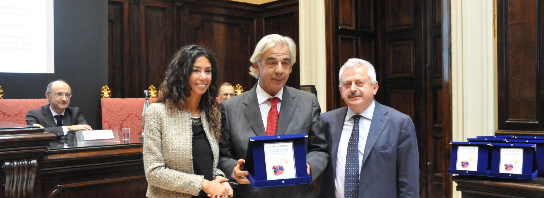 """Delphina Delphina hotels & resorts receives the  """"Promoting excellence to sustain growth"""" award.  Sardinia - Italy"""