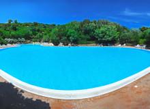residence il mirto gallery piscina  Palau, Cala Capra Сардиния - Италия