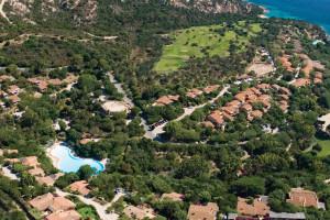 residence il mirto slider vista aerea  Palau, Cala Capra Sardinia - Italy