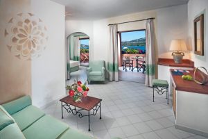 Die Zimmer im Hotel Delphina Resort Cala di Falco Cannigione, Costa Smeralda Sardinien - Italien