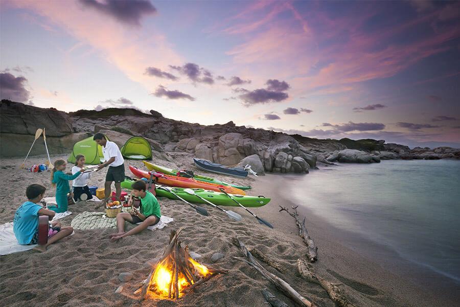Dove andare in Sardegna con bambini: la costa nord