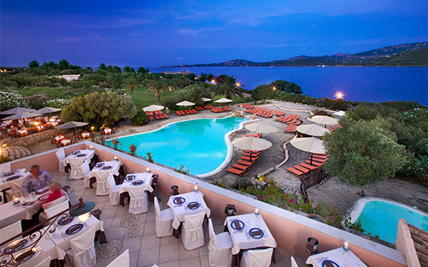 The Restaurants At The Resort Cala Di Falco In The North Of