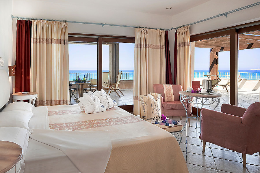 Zimmer Delphina Resort Le Dune Badesi Sardinien - Italien