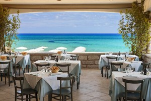 Resort Le Dune, ristorante Alla Spiaggia, Badesi