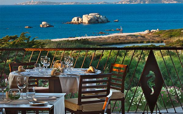 Ristorante Les Bouches - Resort Valle dell' Erica - Santa Teresa Gallura