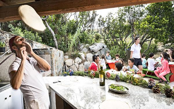 Ristorante Pizzeria per bambini - Resort Valle dell'Erica - Santa Teresa Gallura