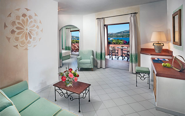 Camera Junior Suite Vista Mare  - Resort Cala di Falco - Cannigione