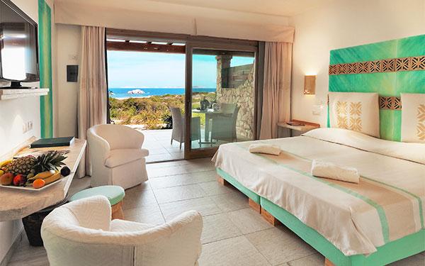 FAmily Suite viista mare - Hotel Valle Erica - Santa Teresa Gallura