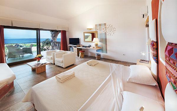 Junior Suite Vista Mare- Hotel Licciola - Santa Teresa Gallura