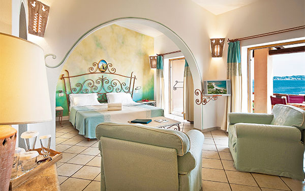 Junior Suite mirtilla - Vista Mare - Hotel Valle Erica - Santa Teresa Gallura