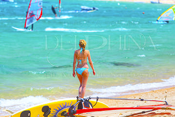 Windsurf in Sardegna. Luglio a Palau con i grandi trofei