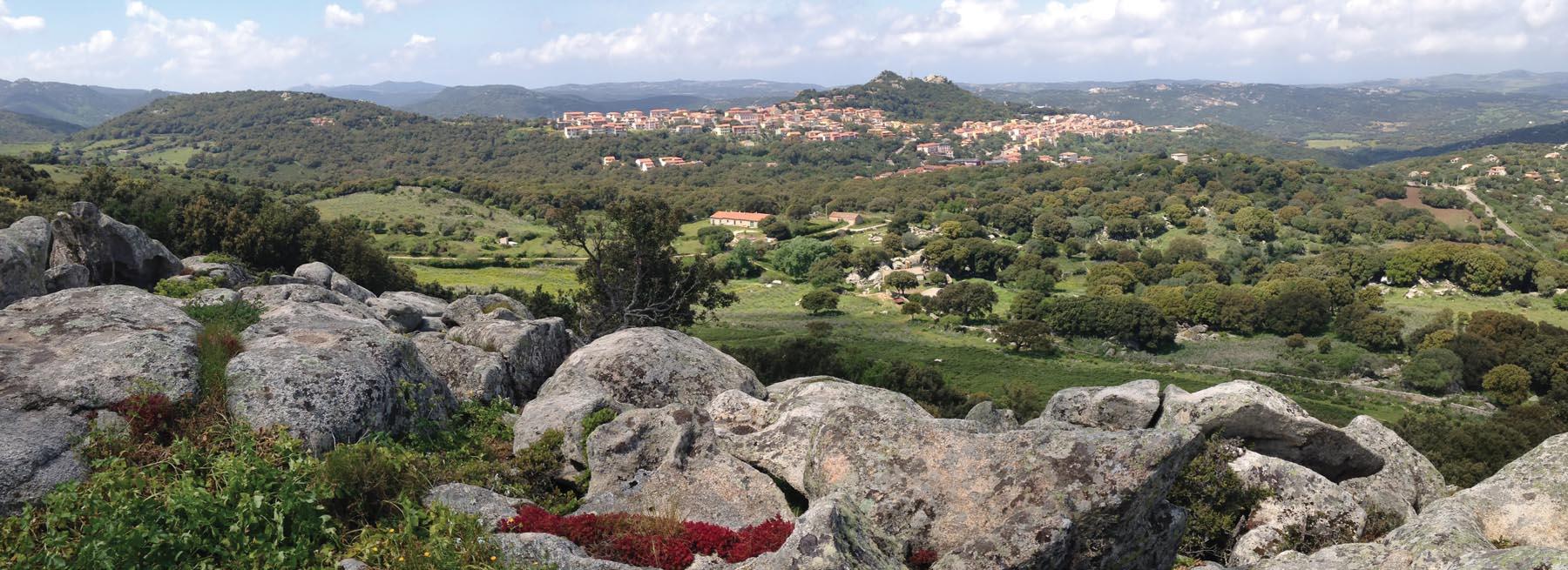 Delphina Mit dem Trenino Verde ins Zentrum der Gallura-Region  Sardinien - Italien
