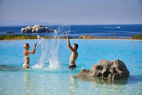 Flitterwochen und Hochzeitstage Delphina Sardinien - Italien