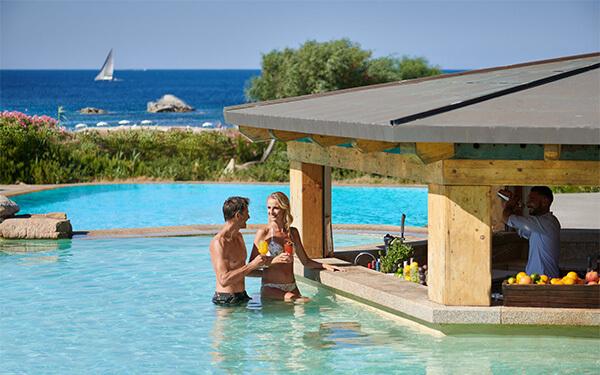 Swimming bar Conchiglia  - Resort Valle dell' Erica - Santa Teresa Gallura